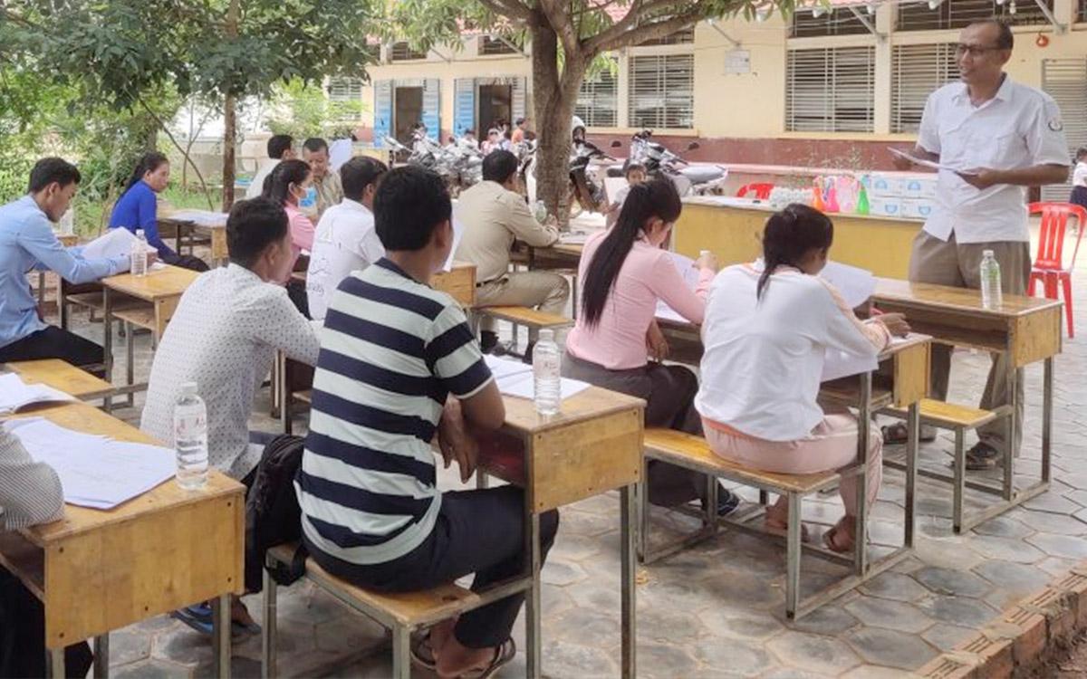 Covid-safe Schools Restart in Chi Kraeng