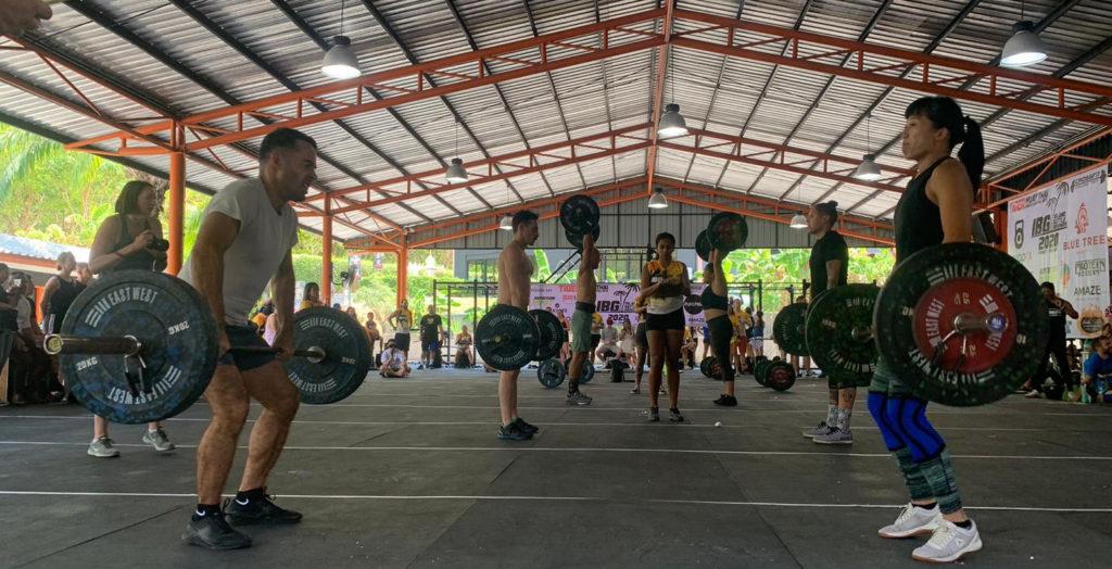 Island Battleground CrossFit for TGF Training